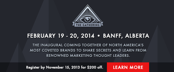 The Gathering: Secret Marketing Conference on Cult Brands