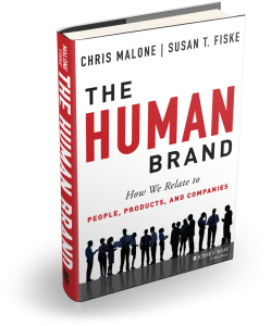 Image of The Human Brand book.